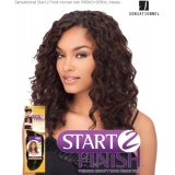 Sensationnel Start 2 Finish FRENCH SPIRAL 12 - Human Hair Weave Extensions