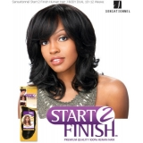 Sensationnel Start 2 Finish J-BODY DUAL 10 - Human Hair Weave Extensions