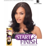 Sensationnel Start 2 Finish J-BODY DUAL 12 - Human Hair Weave Extensions