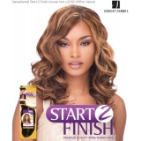 Sensationnel Start 2 Finish LOOSE SPIRAL 18 - Human Hair Weave Extensions