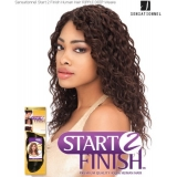 Sensationnel Start 2 Finish RIPPLE DEEP 12 - Human Hair Weave Extensions