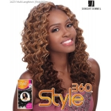 Sensationnel Style360 JAZZY - Human Blend Weave Extensions