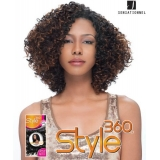 Sensationnel Style360 SPIRAL DEEP - Human Blend Weave Extensions