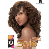 Sensationnel Style360 TWIST BODY - Human Blend Weave Extensions