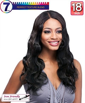 It's a wig Futura Synthetic Clip-In Extension - BODY WAVE 18