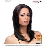 It's a wig Futura Synthetic Hand Tied Finish Full Wig - CLARE