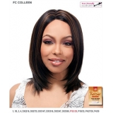It's a wig Futura Synthetic Hand Tied Finish Full Wig - COLLEEN