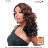 It's a wig Futura Synthetic Hand Tied Finish Full Wig - EMILY