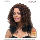 It's a wig Futura Synthetic Hand Tied Finish Full Wig - FIESTA