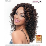 It's a wig Futura Synthetic Hand Tied Finish Full Wig - FLAME