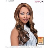 It's a wig Futura Synthetic Hand Tied Finish Full Wig - GLAMOUR