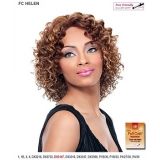It's a wig Futura Synthetic Hand Tied Finish Full Wig - HELEN