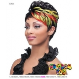 It's a wig Futura Synthetic Rainbow pop Full Wig - IONA