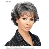 It's a wig Synthetic Sassy MAMA Full Wig - MISS DIVA