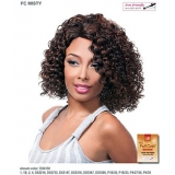 It's a wig Futura Synthetic Hand Tied Finish Full Wig - MISTY