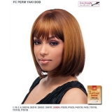 It's a wig Futura Synthetic Full Wig - PERM YAKI BOB