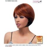 It's a wig Futura Synthetic Full Wig - PERM YAKI CHIC