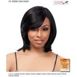 It's a wig Futura Synthetic Full Wig - PERM YAKI DUBY