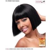 It's a wig Futura Synthetic Full Wig - PERM YAKI GAGA