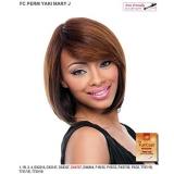 It's a wig Futura Synthetic Full Wig - PERM YAKI MARY J