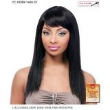 It's a wig Futura Synthetic Full Wig - PERM YAKI ST