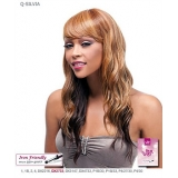 It's a wig Futura Synthetic Quality Full Wig - Q-SILVIA