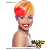 It's a wig Futura Synthetic Rainbow pop Full Wig - RAINBOW ARAH