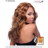 It's a wig Futura Synthetic Hand Tied Finish Full Wig - SERAPHINA