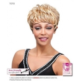 It's a wig Futura Synthetic Full Wig - TOTO