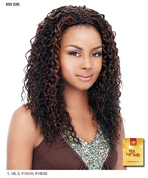 It's a wig Synthetic Half Wig - BRAID CHI