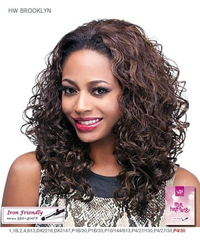 It's a wig Futura Synthetic Half Wig - BROOKLYN