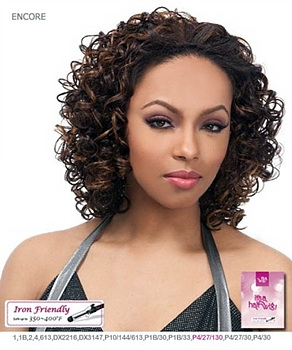 It's a wig Futura Synthetic Half Wig - ENCORE