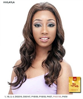 It's a wig Synthetic Half Wig - LAYLA