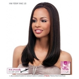 It's a wig Futura Synthetic Half Wig - PERM YAKI 18