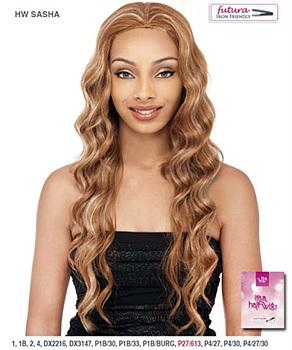 It's a wig Futura Synthetic Half Wig - SASHA
