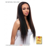 It's a wig Synthetic Half Wig - YAKI LONG