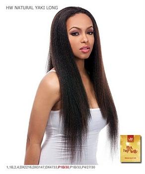 It's a wig Synthetic Half Wig - YAKI LONG