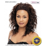 It's a wig Futura Synthetic Braid Lace Front Wig - BRAID ASHLEY