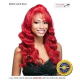 It's a wig Futura Synthetic Braid Lace Front Wig - BRAID LACE BALI