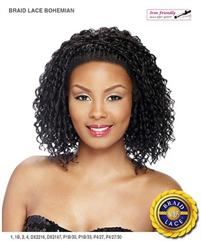 It's a wig Futura Synthetic Braid Lace Front Wig - BRAID BOHEMIAN