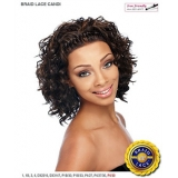 It's a wig Futura Synthetic Braid Lace Front Wig - BRAID CANDI