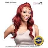 It's a wig Futura Synthetic Braid Lace Front Wig - BRAID LACE JAVA