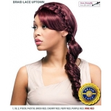 It's a wig Futura Synthetic Braid Lace Front Wig - BRAID LACE TOWN