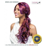 It's a wig Futura Synthetic Braid Lace Front Wig - BRAID LACE VERMONT