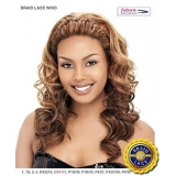 It's a wig Futura Synthetic Braid Lace Front Wig - BRAID WIND