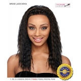 It's a wig Futura Synthetic Braid Lace Front Wig - BRAID XEVIA