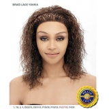 It's a wig Synthetic Braid Lace Front Wig - BRAID YANIKA