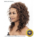 It's a wig Synthetic Braid Lace Front Wig - BRAID YEVETTE