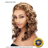 It's a wig Synthetic Braid Lace Front Wig - BRAID YONA