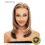 It's a wig Synthetic Braid Lace Front Wig - BRAID YULIA